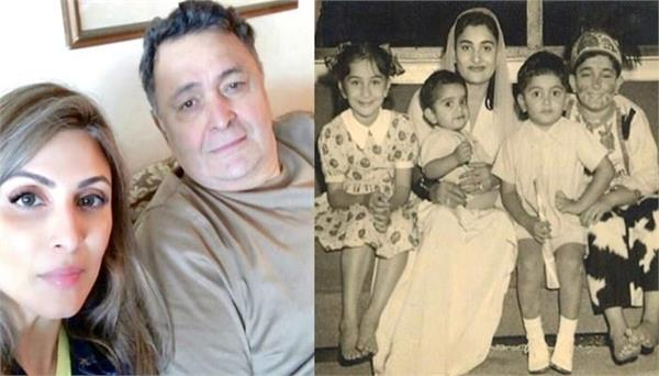 riddhima kapoor sahni shares a priceless childhood photo of dad