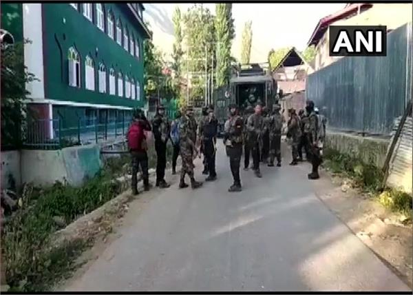 jammu and kashmir pulwama security forces encounter terrorist death