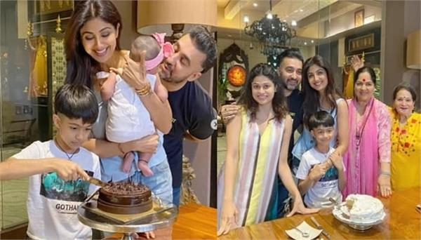 shilpa shetty kundra shares her birthday pictures with raj kundra