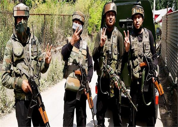 jammu and kashmir let 5 terrorists arrested