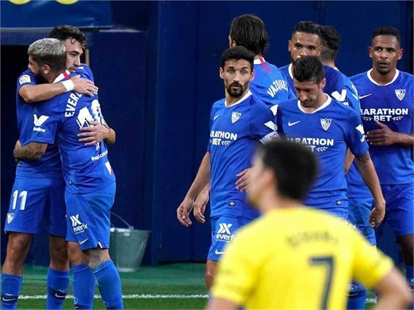 la liga  sevilla finished third after a draw with villarreal