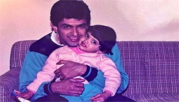 deepika padukone shares childhood pic on his father birthday