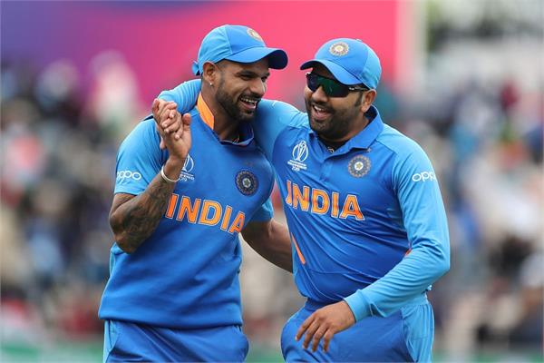 rohit  s revelation  the bowler was scared to see dhawan  s action