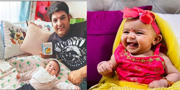 ginni chatrath kapil sharma instagram daughter anayra sharma