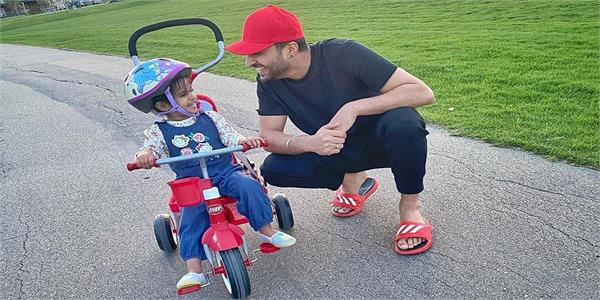 jassie gill shared his daughter pic