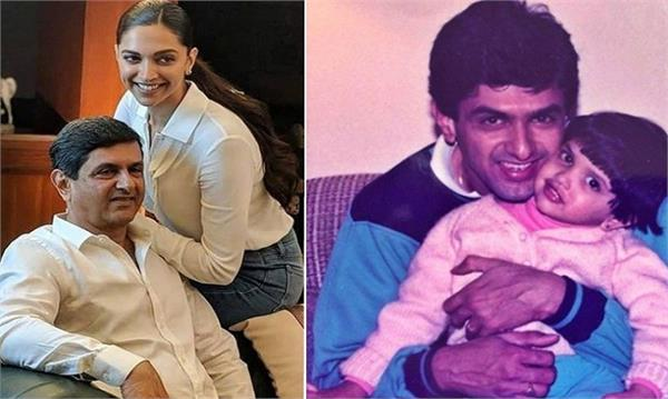 deepika padukon picture with her father viral on social media