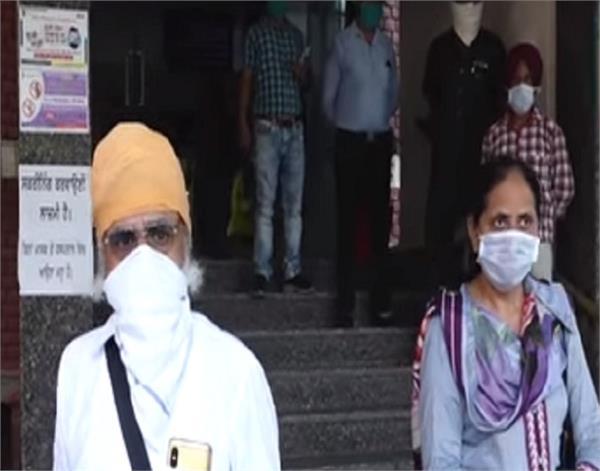 amritsar 4 patients corona war