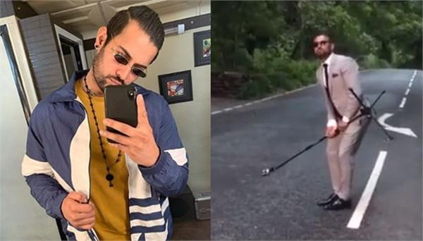 punjabi singer garry sandhu enjoying on uk road