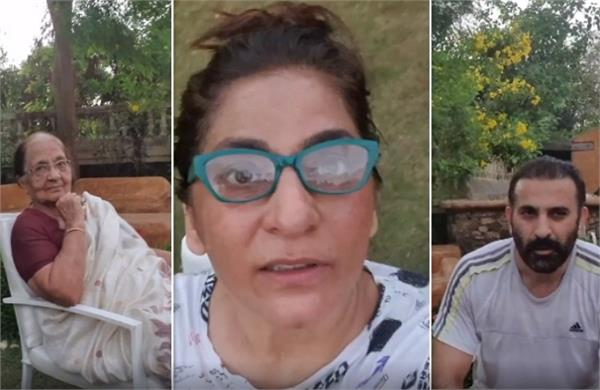 archana puran singh is complaining aboutr husband parmeet mother