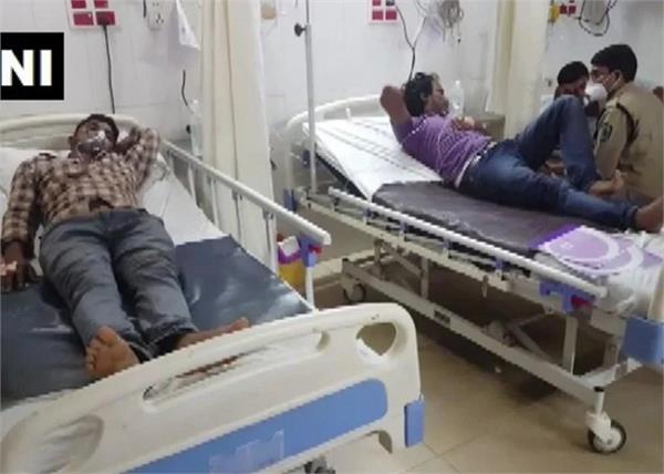 andhra pradesh pharma company gas leak 2 dead 4 sick