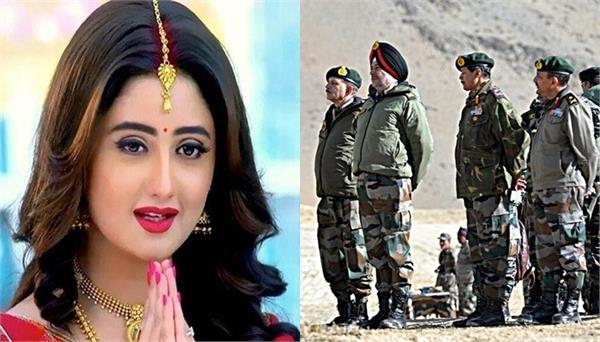 rashmi desai reacts on india china border crisis