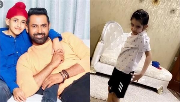 gippy grewal ekam grewal and shinda grewal video viral
