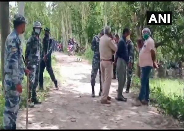 bihar nepal police shooting bihar death injured