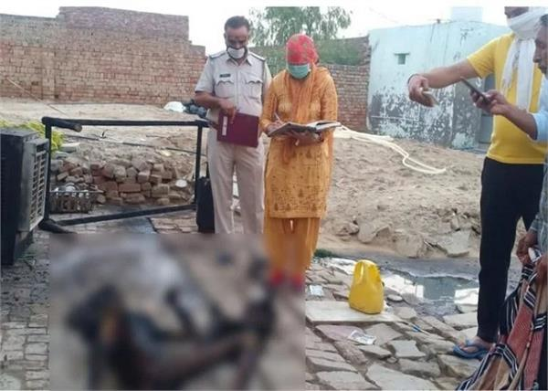 haryana man fired wife and daughter burnt alive
