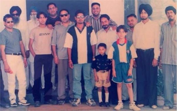 gippy grewal shared a throwback picture