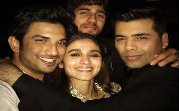 karan johar alia bhat lose thousands over sushant singh rajput death