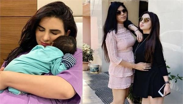 mansi sharma shares her old new year video with khushi shah