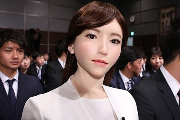ai robot erica bags lead role in a hollywood sci fi movie
