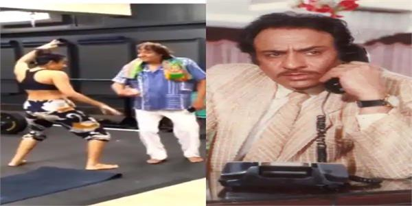 veteran actor ranjeet dances with daughter on sholay s iconic mehbooba song