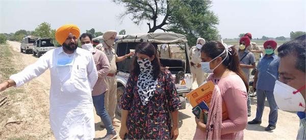 sultanpur lodhi  navtej singh cheema  inspection  dhusi dam