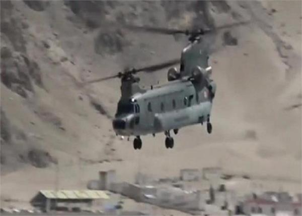 galvan valley lac indian army air force war exercise