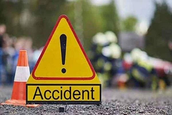 road accident  2 young death