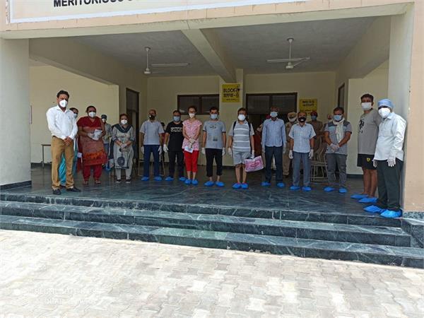 mission fateh 48 patients return home