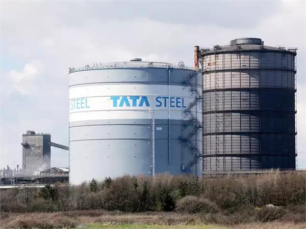 tata steel posted a loss