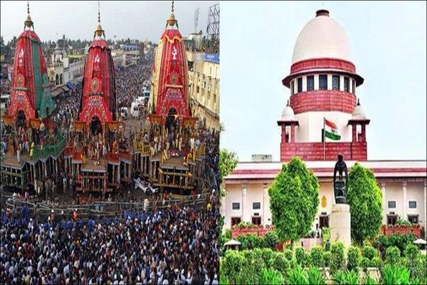 supreme court conditionally allows lord jagannath s rath yatra in puri