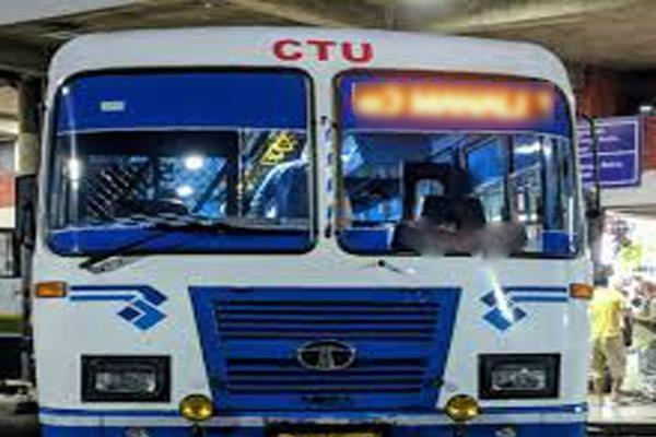 chandigarh transport undertaking long route buses