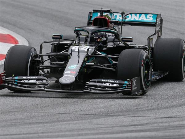 australian grand prix hamilton had the fastest time in both practice sessions
