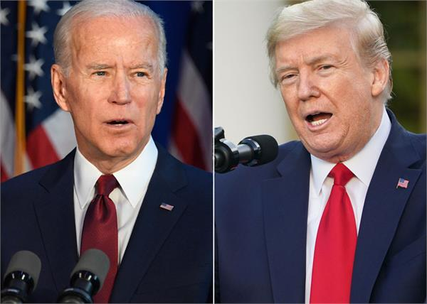 trump backs biden s grip on voters is strong wall street analysts claim