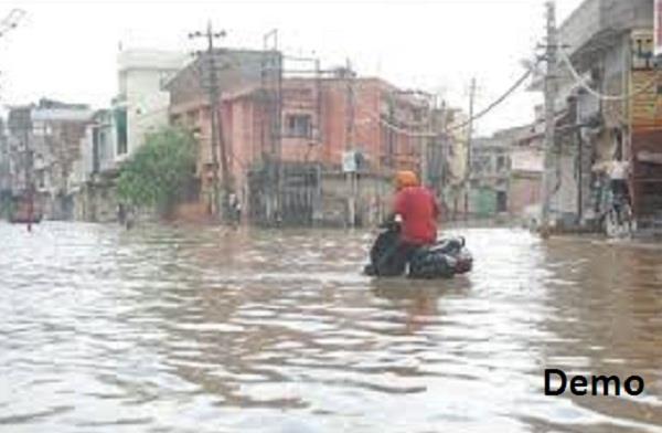 rain  bathinda  badly affected