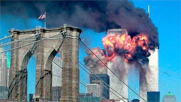 man with the picture of the 9 11 attacks in the united states died with covid 19