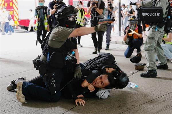 200 protesters arrested in hong kong as china  s national security law