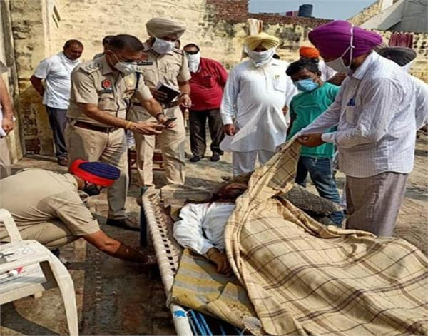 bathinda  elderly farmer  murder