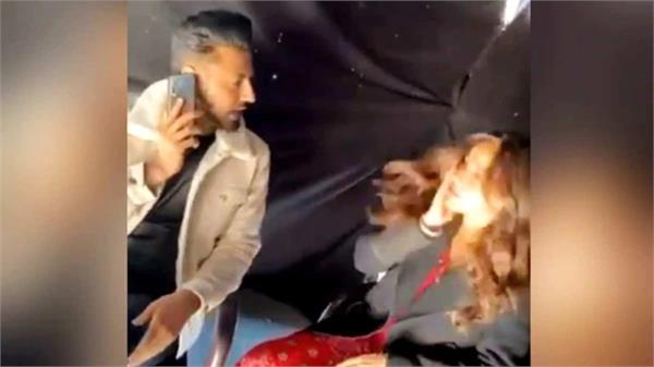 gippy grewal slaps neha sharma video goes viral