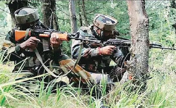 encounter between militants and security forces continues in shopian