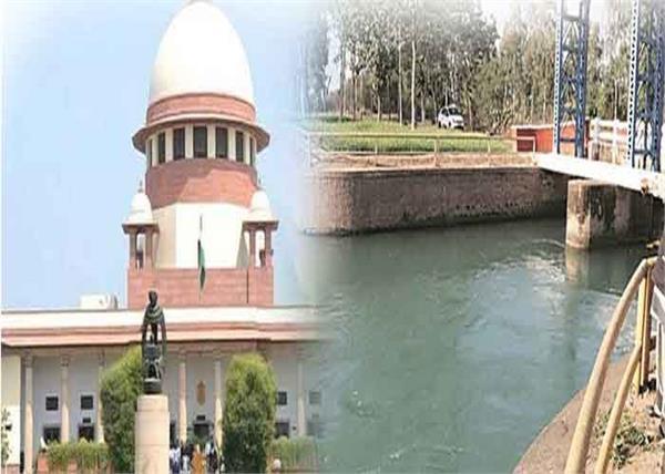 sutlej yamuna link canal supreme court