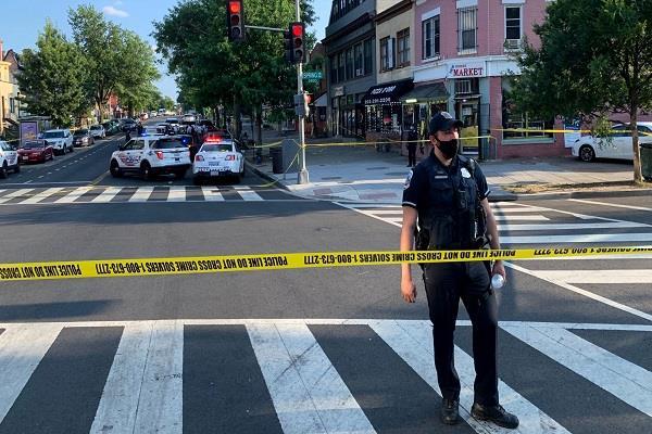 one killed  eight injured washington shooting