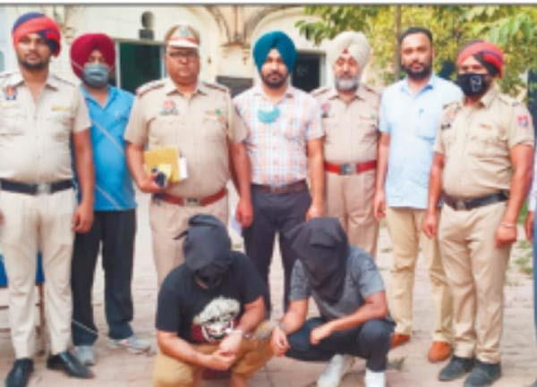 2 peoples arested with heroin kapurthala