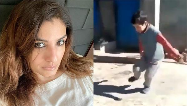 raveena tandon praises viral video of boy pahadi dance