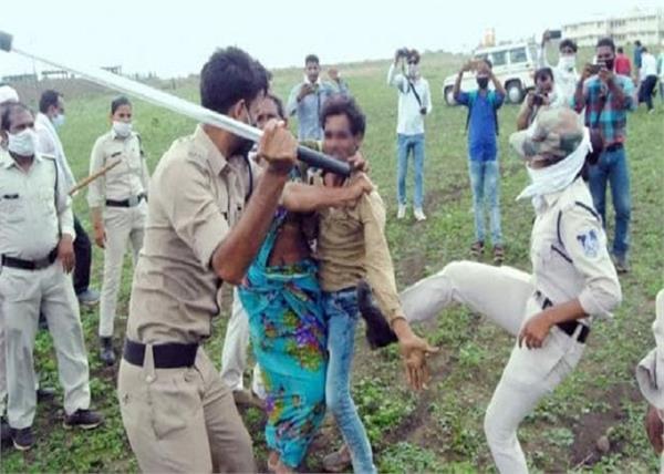 madhya pradesh guna dalit farmer assaulted by police