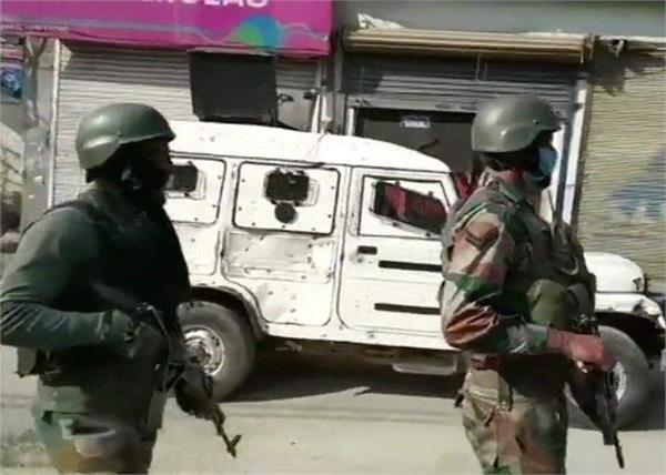 jammu kashmir srinagar security forces encounter 2 terrorists death