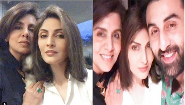 riddhima kapoor shares mother neetu kapoor birthday photos