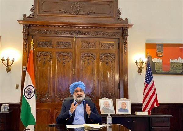 us indian ambassador sikh leader digital conversation india
