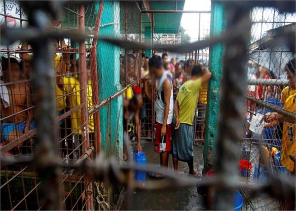 philippines  crowded jails  corona virus  22 thousand  inmates frees