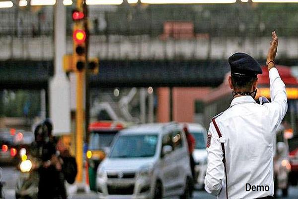 traffic police constable