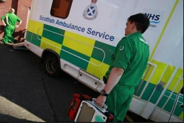 scotland  ambulance calls