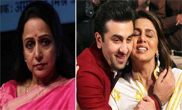 hema malini admitted to hospital and ranbir neetu kapoor corona infected